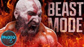 Top 10 des fois où Kratos est passé en mode bête