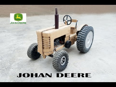 WOW! Super John Deere Tractor || How to make Old John Deere Tractor with cardboard || DIY ||