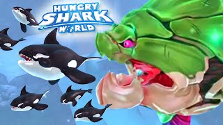 KILLER WHALE CHALLENGE!! - Hungry Shark World | Ep 22 HD