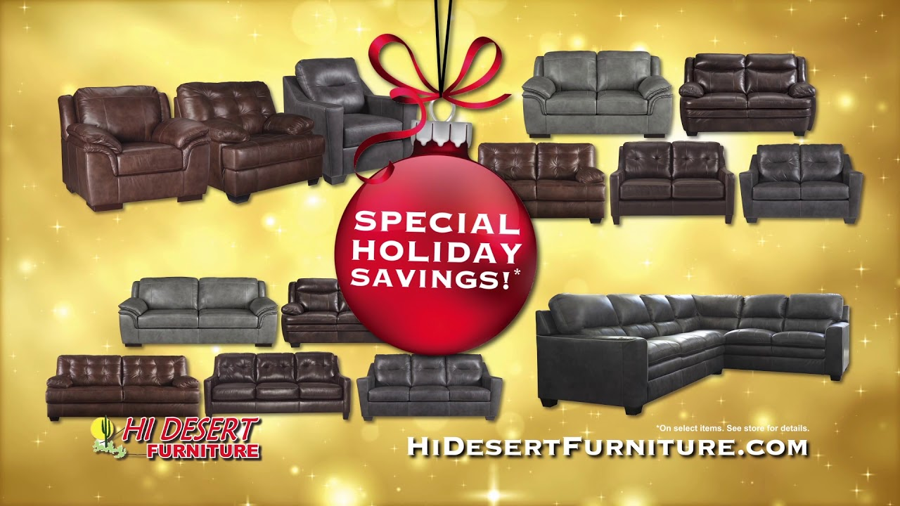 Hi Desert Furniture   Home For The Holidays