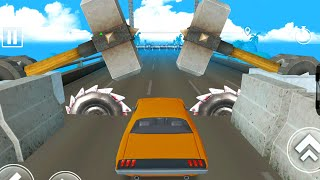 DEADLY RACE #6 Speed Dodge Car Bumps Challenge 3d Gameplay Android IOS
