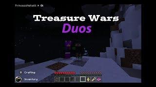 Minecraft | Treasure wars Dous!!!! W/Pup!! | The Best Treasure Wars Duos Team!!!!!!!
