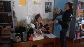 Луганская сельская библиотека - годовой отчет