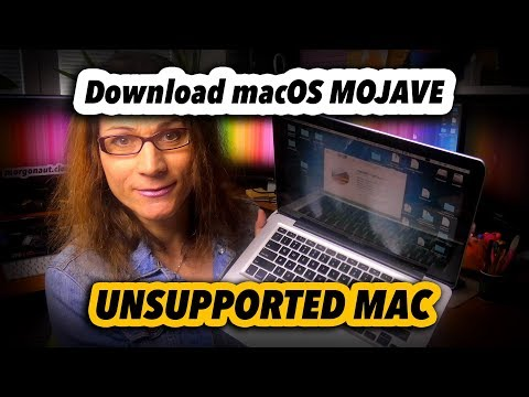 How To Download macOS Mojave Installer on Unsupported Mac - YouTube