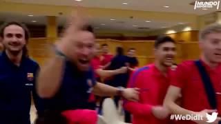 Barça: Mira las mejores reacciones de aficionados al gol de Sergi Roberto