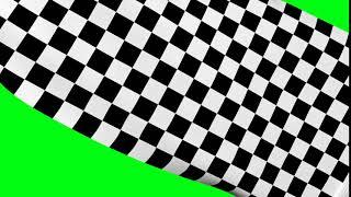 3 FREE TRANSITION RACING FLAG   GREEN SCREEN
