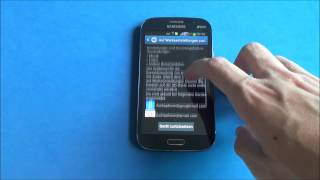 Samsung Galaxy Grand Duos - Screenshot & hard reset