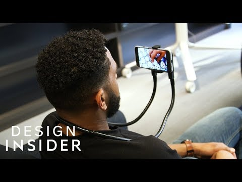 Cellphone Holder Lets You Use Your Phone With No Hands