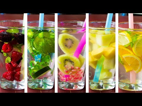 5 Flavored Water For Weight Loss
