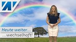 Das Wetter zeigt heute all seine Facetten: Regenschauer, Gewitter und örtlich Sonnenschein!