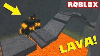 I'M RIDER AND I RUN BEFORE LAVA HAHA! 🔥 (roblox: Lava Survival Game!)