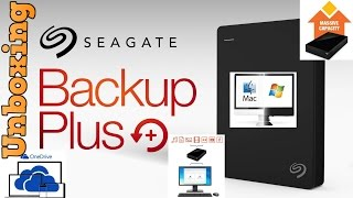 Unboxing - Seagate Backup Plus [5TB] Desktop - External [Hard Drive] - Plus Main Feature(s) Overview