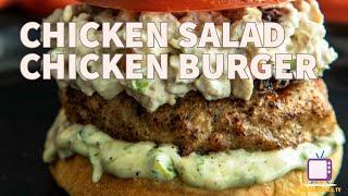 Chicken Salad Chicken Burger