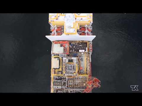 FPSO Petrojarl Knarr Sailaway - Teekay's Largest Project [HD]