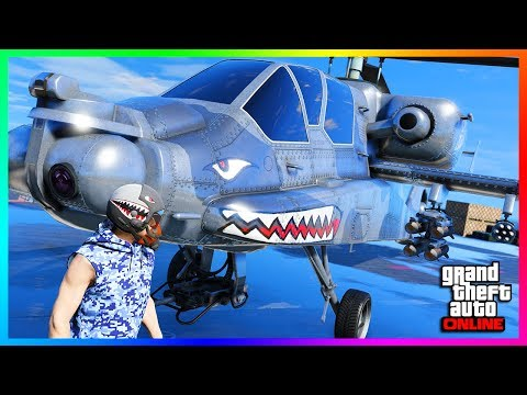 GTA ONLINE DLC NEW VEHICLE RELEASED SPENDING SPREE - FH-1 HUNTER, NEW CONTENT & MORE! (GTA 5 DLC)