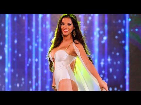 Miss per callao 2017 las candidatas se lucieron con un for Trajes de bano 2017
