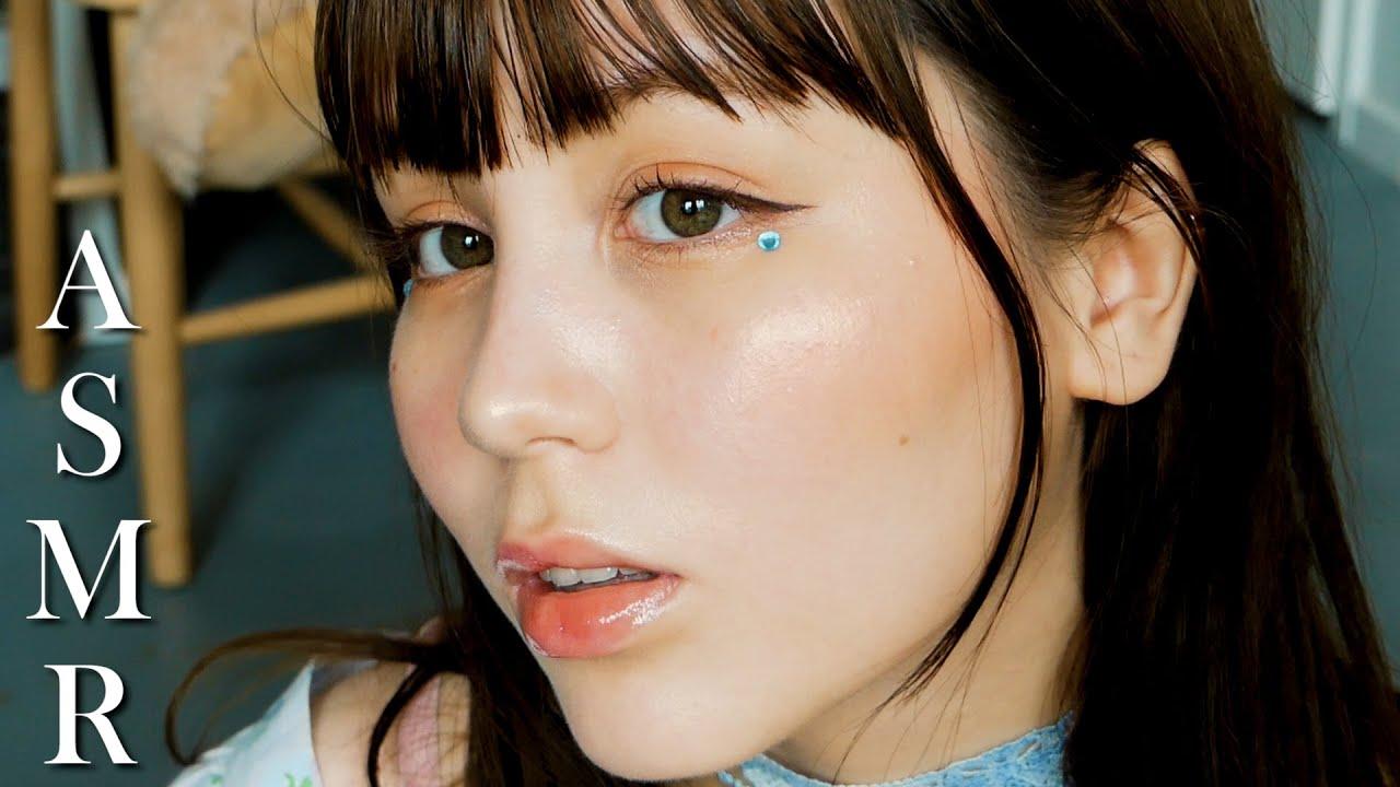 Doing My Makeup ASMR 💄liquid sounds, sponge, tapping