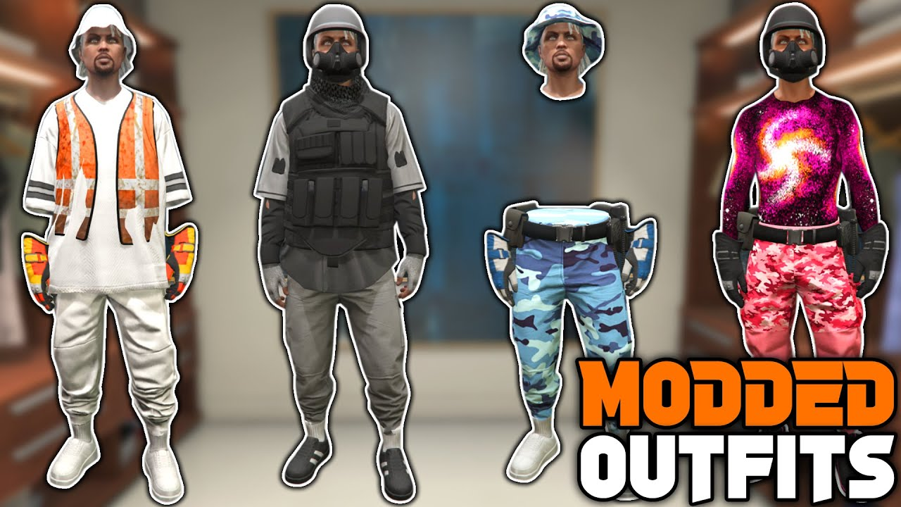 GTA 5 ONLINE How To Get Multiple Modded Outfits All at ONCE! 1.56! (Gta 5 Clothing Glitches)