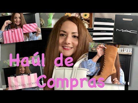 HAUL DE COMPRAS - OFERTAS 👄 VICTORIA SECRET , SEPHORA , MAC , CARTERAS COACH Y FOSSIL , APPLE STORE