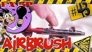 Ep 43 : Comment utiliser un aérographe (Airbrush) ?