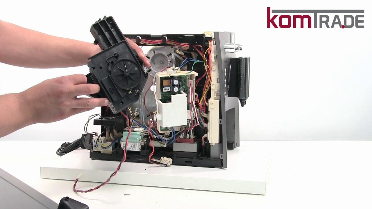 Siemens Surpresso Reparaturanleitung Drainageventil ...
