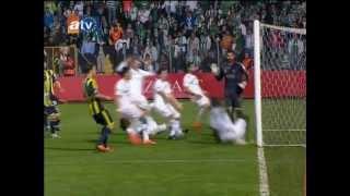 Bursaspor 0-4 Fenerbahce Kupa Finali Goller ve Kupa toreni