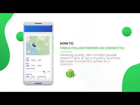 How to find and follow friends on ConnectYu