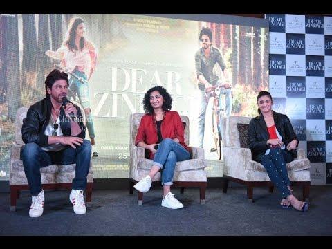 Shah Rukh Khan, Alia Bhatt, Gauri Shinde promote 'Dear Zindagi' in Delhi