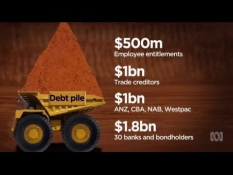 High debt, falling commodities & oversupply of steel lead Arrium into administration