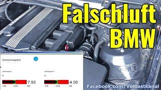 BMW FALSCHLUFT-QUELLE ROHRKRÜMMER, FALTENBALG E46 E39 / Vacuum Leak BMW Intake Boot M54, M52, M52TU