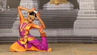 Bharathanatya Arangatram - Padam - Darshini - Anantha koothanin Thandava Darisanam