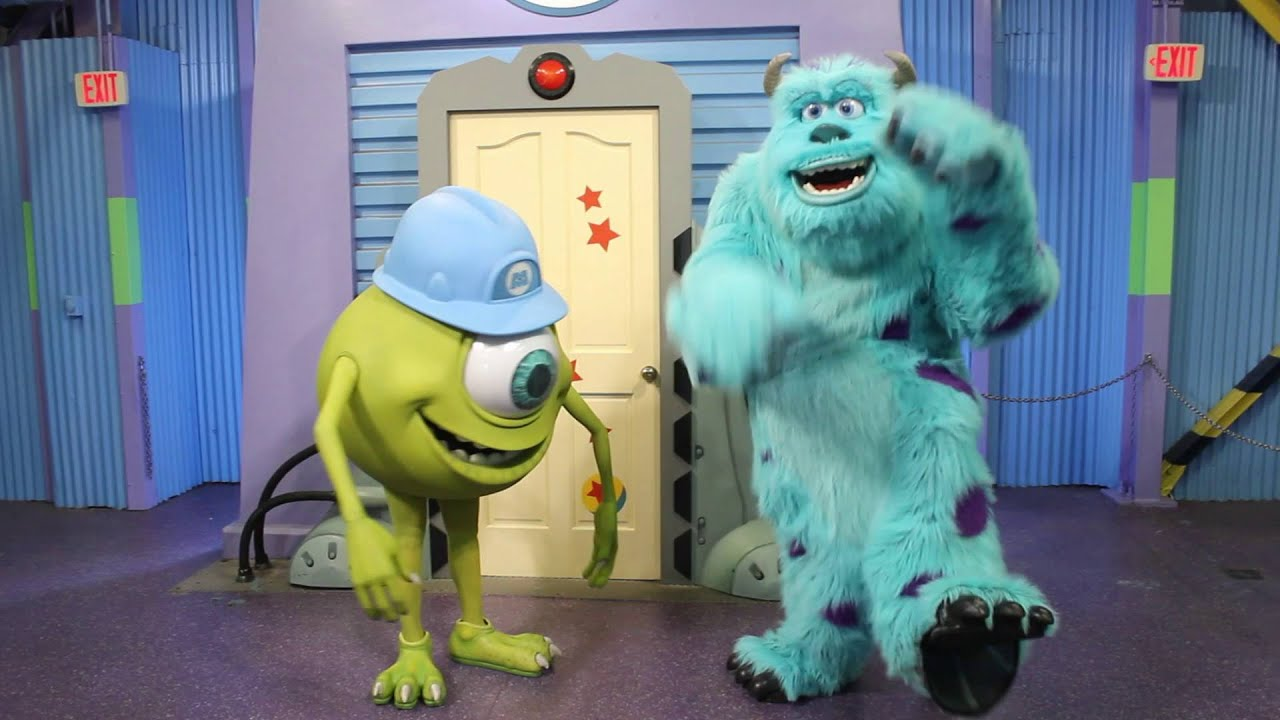monsters inc mike and sulley meet
