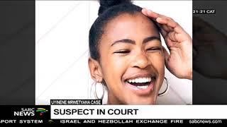 Man confesses to UCT student Uyinene Mrwetyana's murder