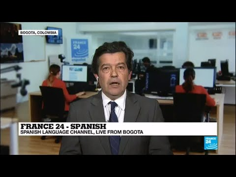 France 24 español's Chief Alvaro Sierra live from Bogota!