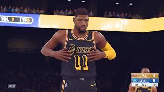NBA 2K19 Roster (PC) | Lakers vs Warriors (2k18) | 4K 60fps!