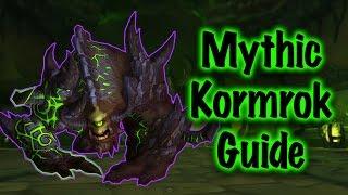 Jessiehealz - Kormrok Mythic Healer PoV Guide (World of Warcraft)