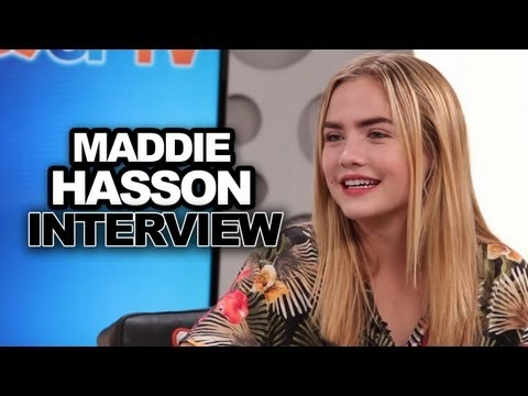 Maddie Hasson Teases