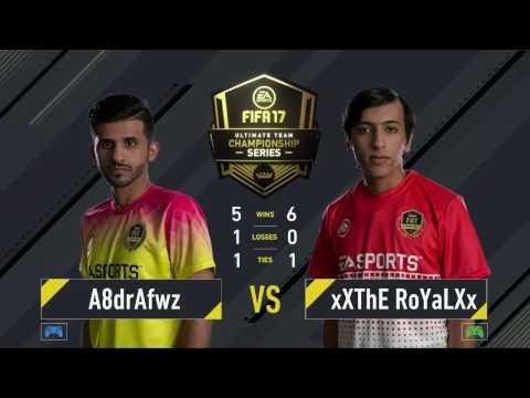 Abdulaziz Alshehri x Khalid Aloufi - FIFA 17 - Ultimate Team Championship Series - Sydney - Final #1