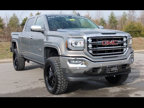 2017 Gmc Sierra 1500 Z71 4x4 4 Rocky Ridge Lift Texas Edition At Wilson County Motors Lebanon Tn You