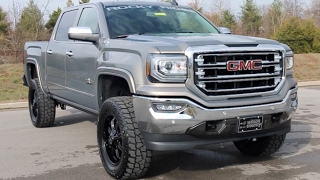 "2017 GMC Sierra 1500 Z71 4X4 4"" Rocky Ridge Lift ""Texas Edition"" at Wilson County Motors Lebanon Tn"
