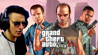 A New Gangster Has Arrived in GTA 5 (Gameplay #1)