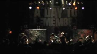 "A Day To Remember - ""Welcome To The Family"" Live"