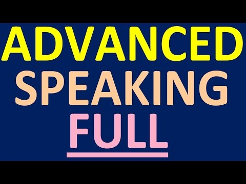ADVANCED ENGLISH SPEAKING COURSE - FULL VIDEO. How to learn English speaking easily for conversation