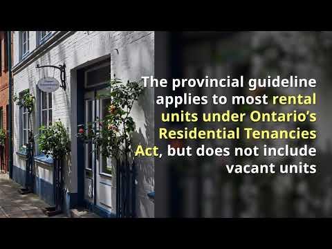 2019 Ontario Rent Increase Guideline
