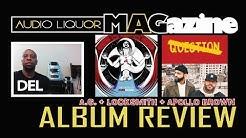 A.G. - 'THE TASTE OF AMBROSIA + LOCKSMITH & APOLLO BROWN 'NO QUESTION' ALBUM REVIEWS by DEL
