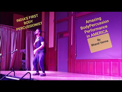 BodyPercussion Live At Mohonk Mountains Newyork By Bharat Verma
