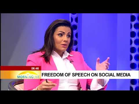 Freedom of speech on social media