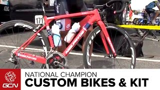 National Champion Custom Bikes And Gear – Peter Kennaugh And Eric Marcotte
