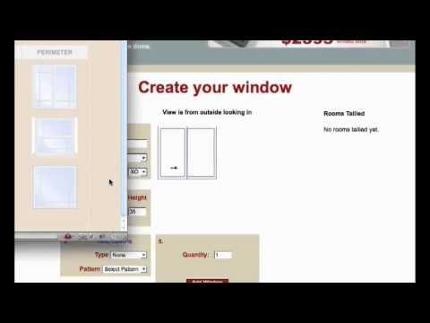 Replacement Window Cost Estimator