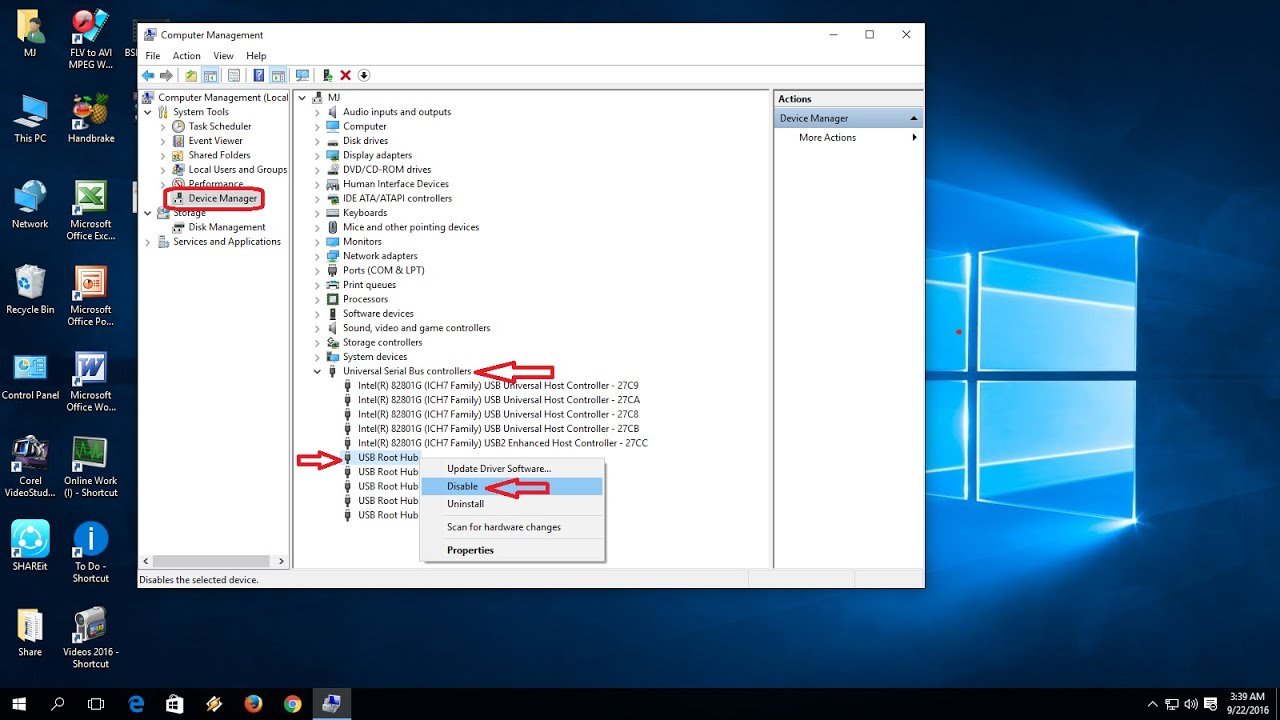 How to Enable or Disable USB Ports in Windows PC/Laptop - YouTube How to Enable or Disable USB Ports in Windows PC/Laptop